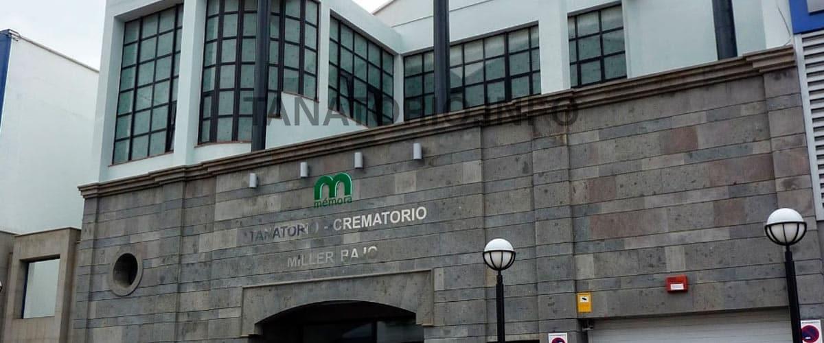 Tanatorio Crematorio Miller Bajo como llegar